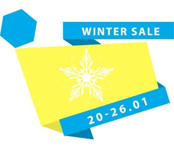 Теплые зимние скидки -35%