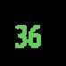 Женские текстильные  домашние тапочки BELSTA 37 размер 23,5 см (артикул B1006)