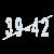 Женские теплые носки SOFTSAIL DN016wh-2 39-42 размер