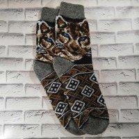Мужские теплые носки из шерсти ангоры Angorka ICH076