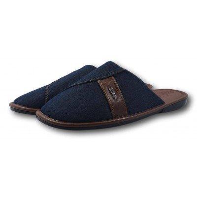 Мужские текстильные  домашние тапочки BELSTA 42 размер 26,5 см (артикул B2301)