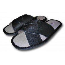 Комнатные мужские кожаные тапочки TapMal С174