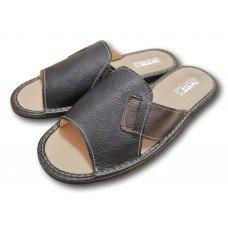 Комнатные мужские кожаные тапочки TapMal С233