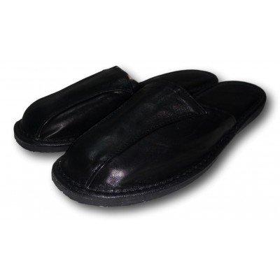 Мужские кожаные домашние тапочки на усиленной подошве TapMal 44 размера 28 см (модель С105)