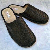 Комнатные мужские кожаные тапочки TapMal С127
