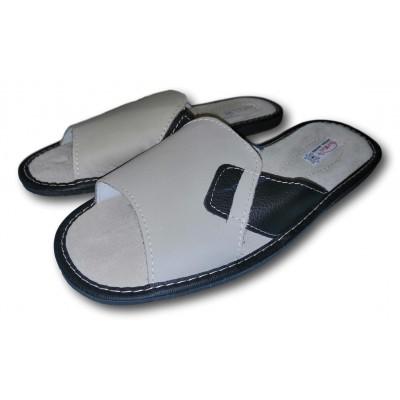Мужские кожаные домашние тапочки TapMal (модель C138)