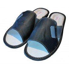 Комнатные мужские кожаные тапочки TapMal C259