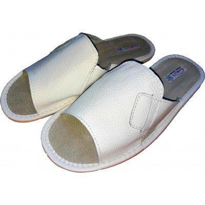 Мужские кожаные домашние тапочки TapMal 45 размер 28 см (модель C31)