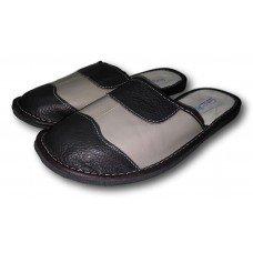 Комнатные мужские кожаные тапочки TapMal С49