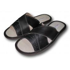 Комнатные мужские кожаные тапочки TapMal C73