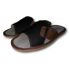 Комнатные мужские кожаные тапочки TapMal C77