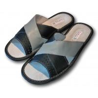 Комнатные мужские кожаные тапочки TapMal С86