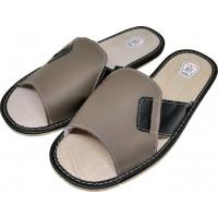 Комнатные мужские кожаные тапочки TapMal C99 41 размер