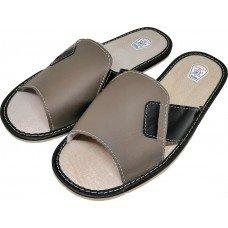 Комнатные мужские кожаные тапочки TapMal C99