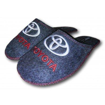 Комнатные мужские паркетные войлочные тапочки TapOK (модель T108)