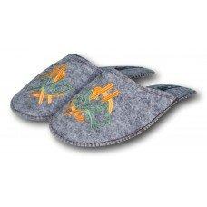 Комнатные мужские войлочные тапочки TapOK T102g 43 размер