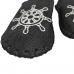 Комнатные мужские фетровые тапочки ручной работы VENDS 40/41 размера 26 см (модель 329M)