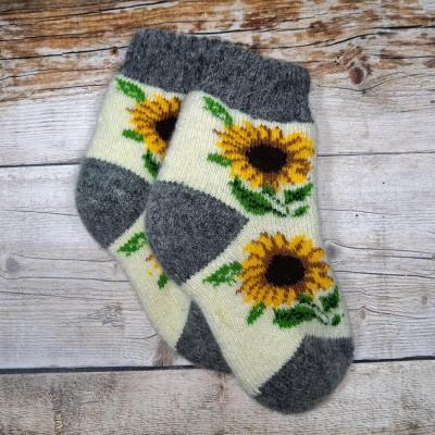 Детские ангоровые носки Angorka 25 размера 15 см (модель ID132)