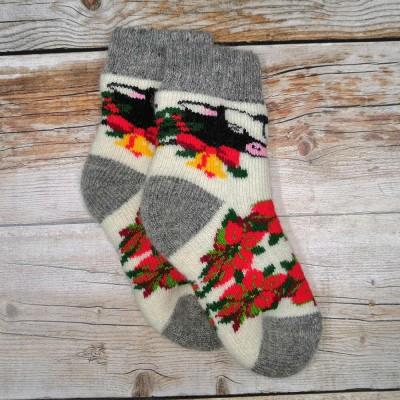 Детские ангоровые носки Angorka 27 размера 16 см (модель ID155)