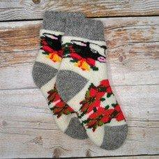 Детские теплые носки из шерсти ангоры Angorka ID155 27 размера