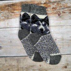 Дитячі теплі шкарпетки з вовни ангори Angorka ID302