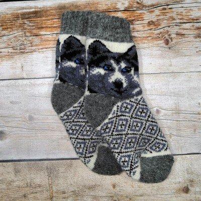 Детские ангоровые носки Angorka 27 размера 16 см (модель ID302)