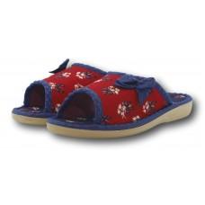 Комнатные детские тапочки для девочки с бантом БЕЛСТА (BELSTA) B3004 32 размера красные