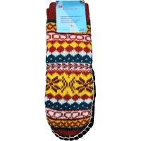 Детские теплые тапки-носки с подошвой LookEN SM-DT-6111-o