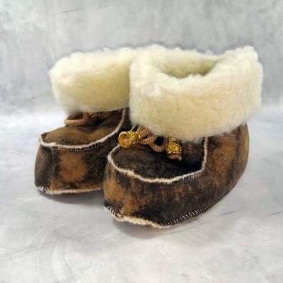Детские теплые пинетки (сапожки) 21 размера 13 см  (модель TK-08)