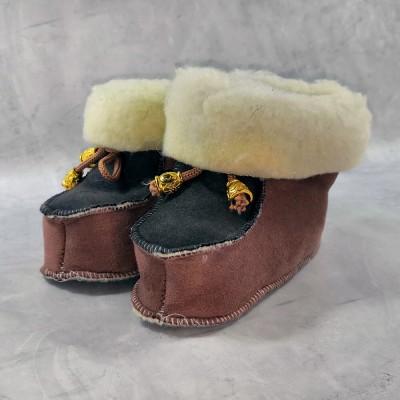 Детские теплые пинетки (сапожки) 22 размера 14 см  (модель TK-12)