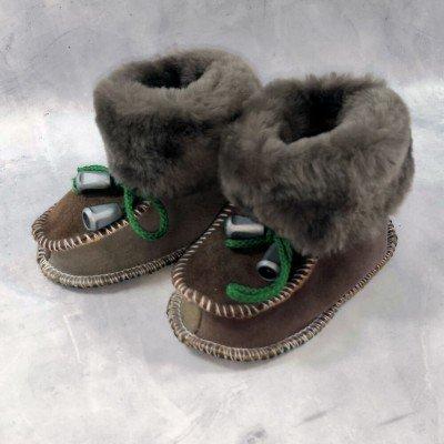 Детские теплые пинетки (сапожки) 20 размера 12 см  (модель TK-14)