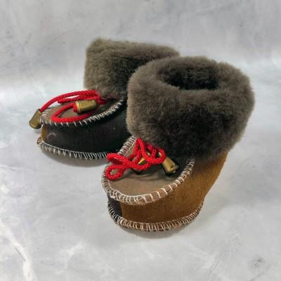 Детские теплые пинетки (сапожки) 19 размера 11,5 см  (модель TK-15)
