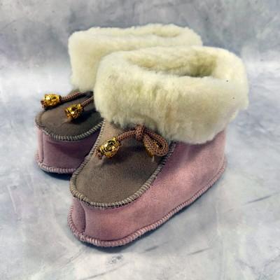 Детские теплые пинетки (сапожки) 23 размера 14,5 см  (модель TK-17)