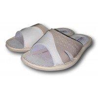 Комнатные детские кожаные тапочки для мальчиков TapMal B148 35 размера