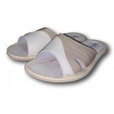 Комнатные детские кожаные тапочки для мальчиков TapMal B148