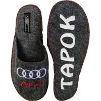 Комнатные мужские войлочные тапочки TapOK T105