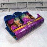 Детские фетровые тапочки для девочек ручной работы VENDS 838blu