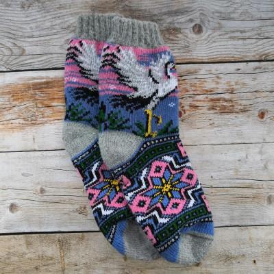 Женские ангоровые носки Angorka 37 размера 23 см (модель IZH213)