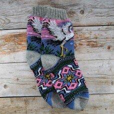 Жіночі теплі шкарпетки з вовни ангори Angorka IZH213