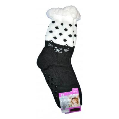 Домашние женские носки SOFTSAIL (модель DN016bl-1)