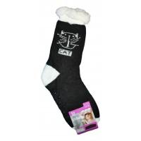 Женские домашние носки SOFTSAIL DN016bl-2