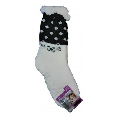 Теплые женские носки SOFTSAIL 35-38 размер 23 см (модель DN016wh-1)