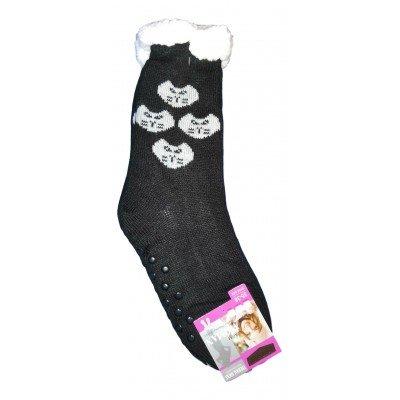Домашние женские носки SOFTSAIL 35-38 размер 23 см (модель DN016bl-3)