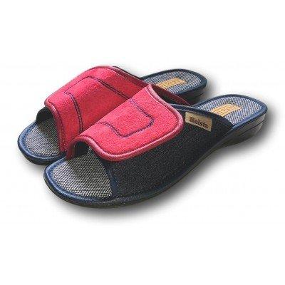 Женские текстильные  домашние тапочки BELSTA (артикул B1300)