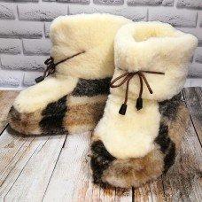 Домашние женские угги (чуни) из натуральной шерсти Eluna 1005-03 36/37 размер