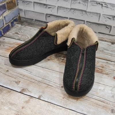 Комнатные угги (бурки) суконные утепленные Krok 41 размера 26 см (модель Б-01с)