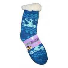 Жіночі теплі термошкарпетки з силіконовими вставками на підошві LookEN SM-HL-2031