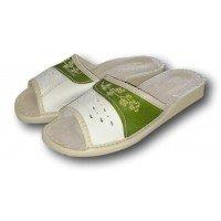 Комнатные женские кожаные тапочки Nowbut N86 38 размер
