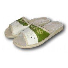 Комнатные женские кожаные тапочки Nowbut N86 37 размер