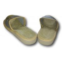 Комнатные женские кожаные тапочки Nowbut N90